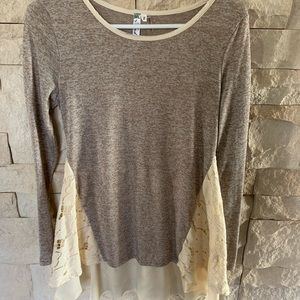 Lacy Tunic size small
